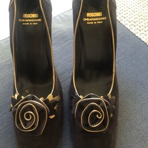 Italian Dress Moschino shoes